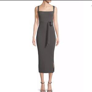 Theory ribbed dress
